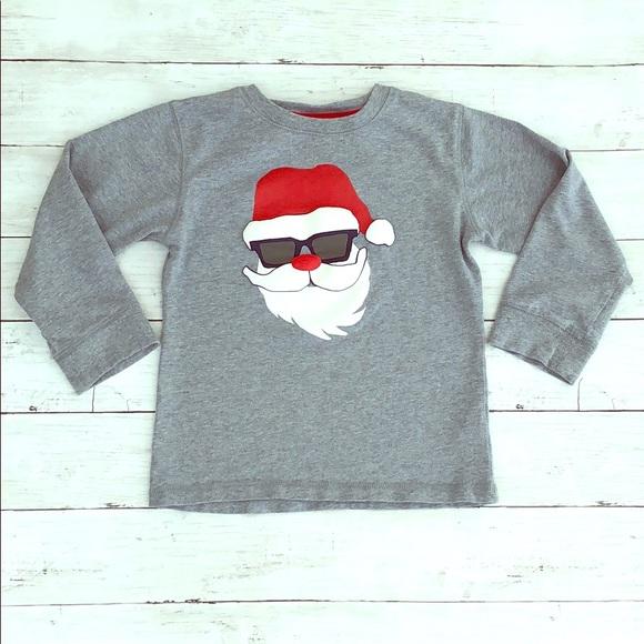 Gymboree Other - Gymboree Cool Santa in Shades Long Sleeve Shirt